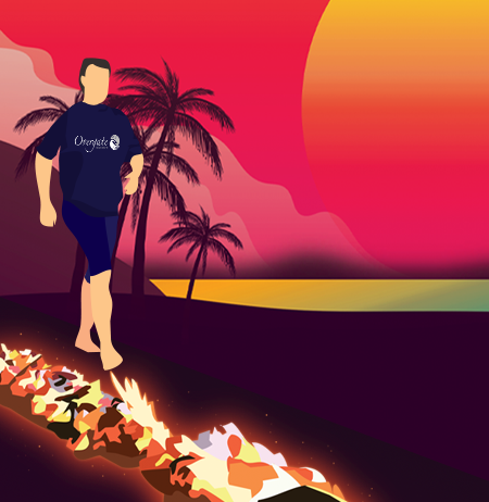 Hawaiian Firewalk