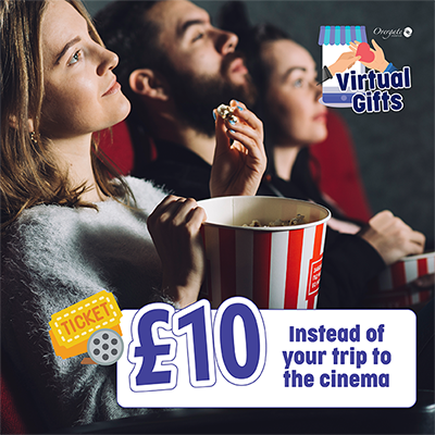 £10 – Instead of your trip to the cinema