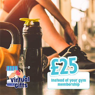 £25 – Instead of your gym membership