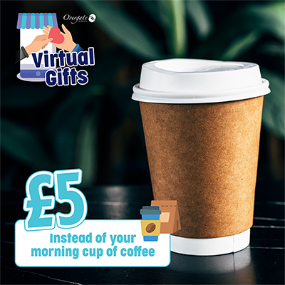 £5 – Instead of your morning cup of coffee