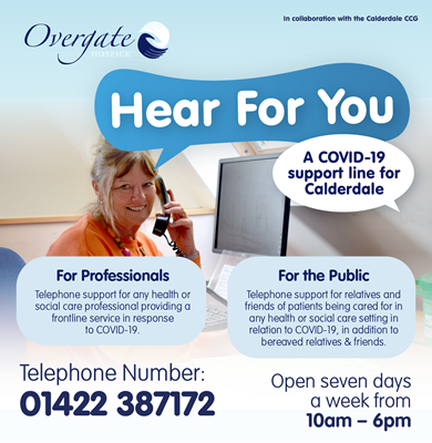 Overgate Launches Covid-19 Support Line